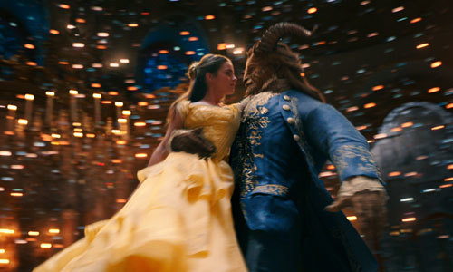 The Beast and Belle dance