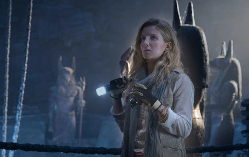 Archeologist Jenny Halsey (Anabelle Wallis) in the Mummy's tomb