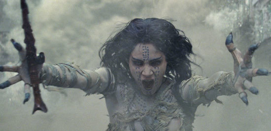 The Mummy conjures up a sandstorm