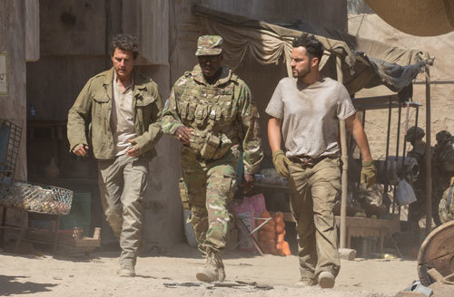 Nick, Colonel Greenway and Chris Vail