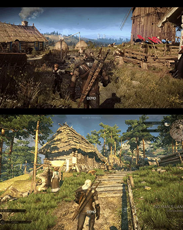 The Witcher III looked fantastic but saw its own downgrade.