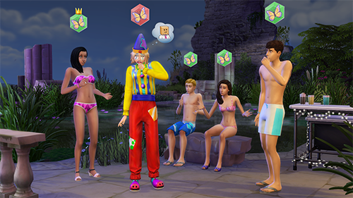 A look at The Sims 4 DLC Get Together