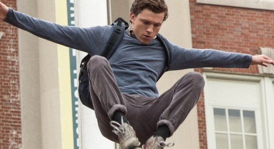 Peter Parker hones his powers