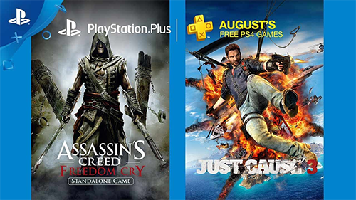 August 2017's Free PS4 Games.