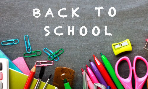 It's not easy going back to school after summer, but you can do it!