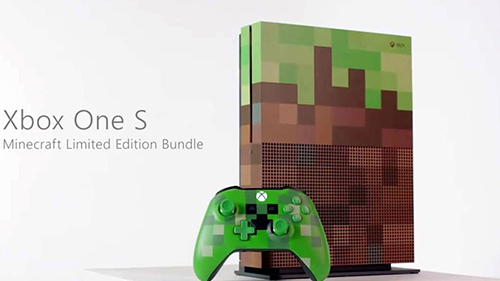 Minecraft is both in and on your Xbox.