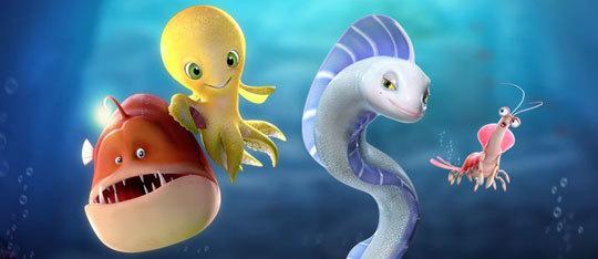 deep movie review ocean octopus animated creatures