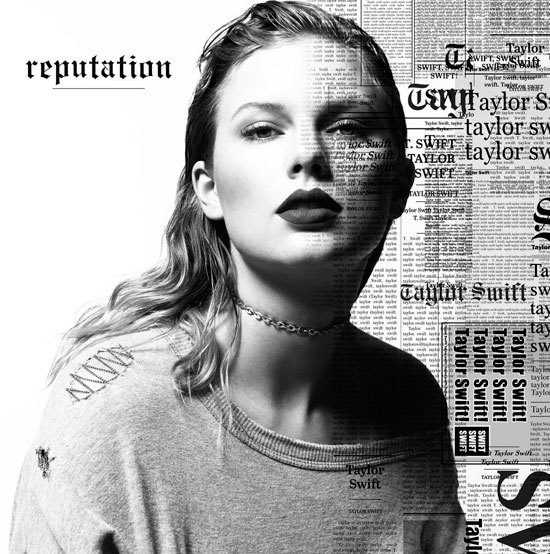 Cover art of Taylor Swift's album reputation