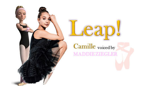 Camille Leap! Character Poster