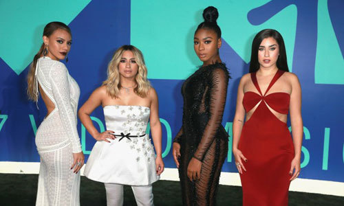 Fifth Harmony won the Best Pop Moon Man