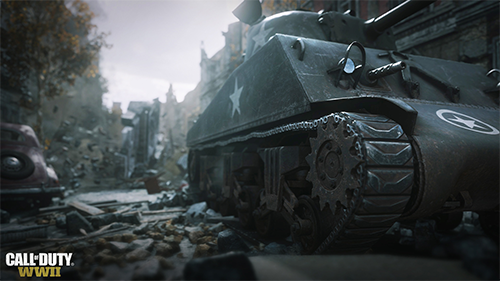 War is a new direction to take an online mode for Call of Duty.