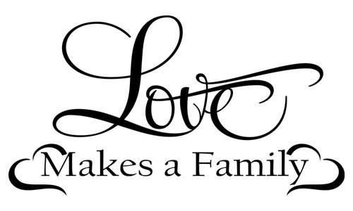 Build your family upon love and harmony.