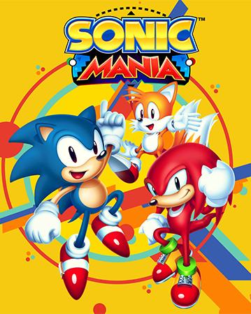Sonic Mania Box Art