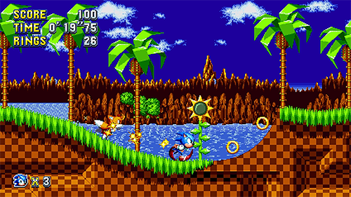 Green Hill Zone has never been better than it is in Sonic Mania.