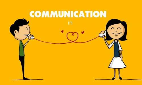 Communication is key in relationships of all kinds.