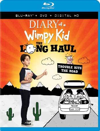Diary of a Wimpy Kid: The Long Haul Blu-ray