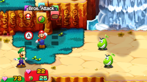 Mario and Luigi get a 3D facelift in this remake.