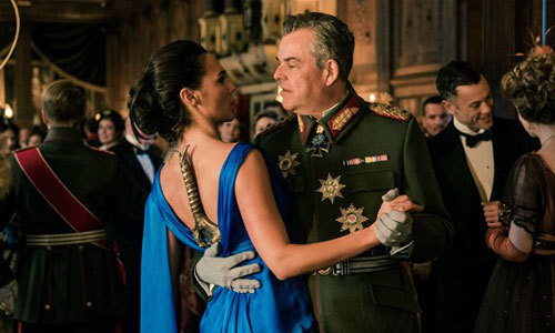 Diana dances with the dreaded evil German General
