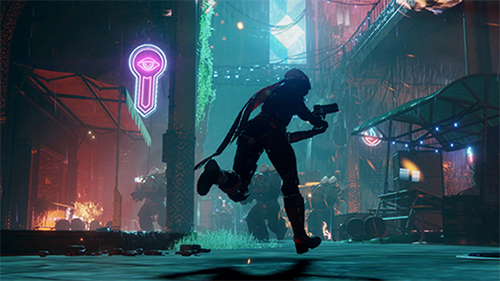 Destiny 2's graphics are well complimented with the game's unique art direction.