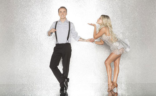 Frankie Muniz with Professional Dancer Witney Carson