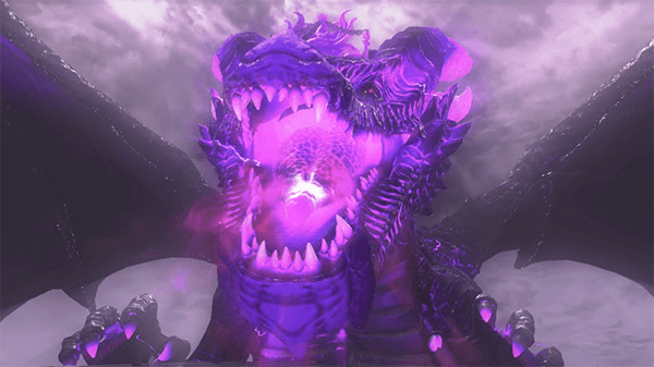 Who would've expected a giant dragon as a boss in a Mario game?