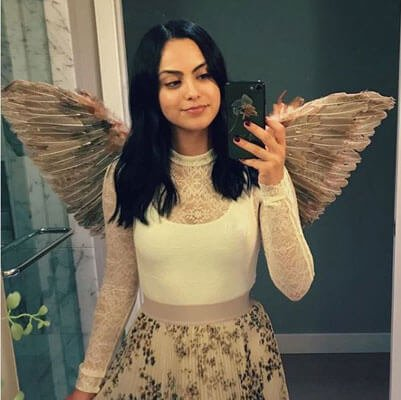 Copy Camilla Mendes and dress up like an angel