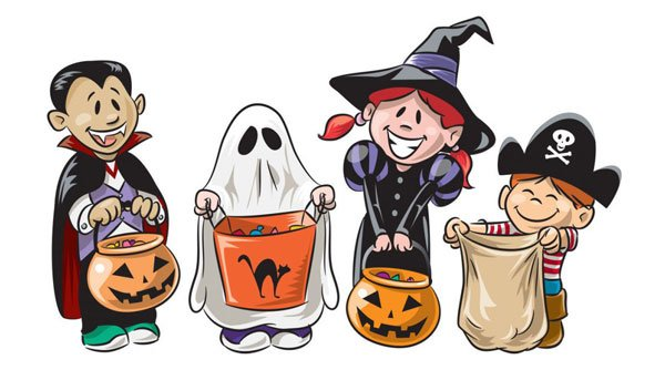 Have a safe and fun time trick-or-treating.