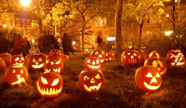 Carving pumpkins is a great way to celebrate Halloween.