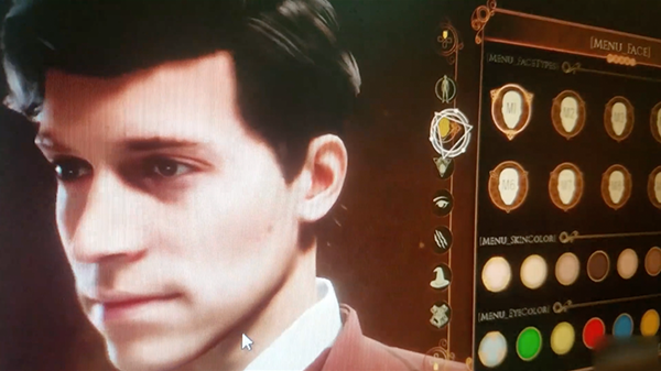 A quick look shows off the game's character creator.