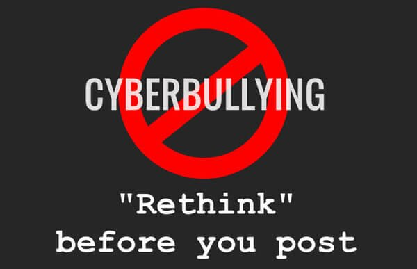 Stop cyberbullying now!