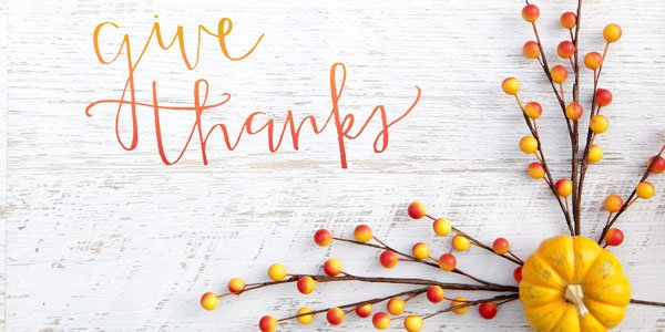 The Holidays Encourage Us To Give And Be Grateful