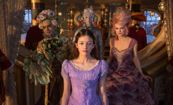 Clara with Sugar Plum and other regents