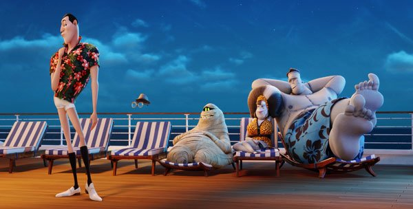 Drac goes tropical on the cruise