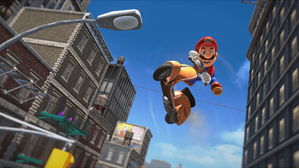 Super Mario Odyssey is pure fun for any level of player.