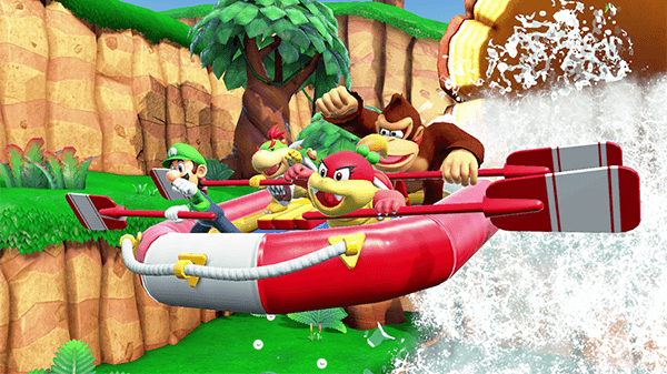 The River Survival Mode is more cooperative than traditional Mario Party modes.