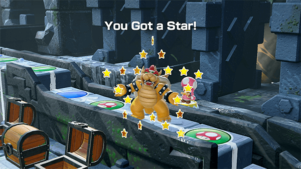 Getting the most Stars is still the main goal of the game.
