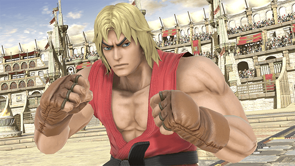 If you were predicting Smash characters, Ken seemed like a safe bet.