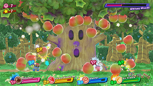 Multiplayer is a focus in Kirby Star Allies.