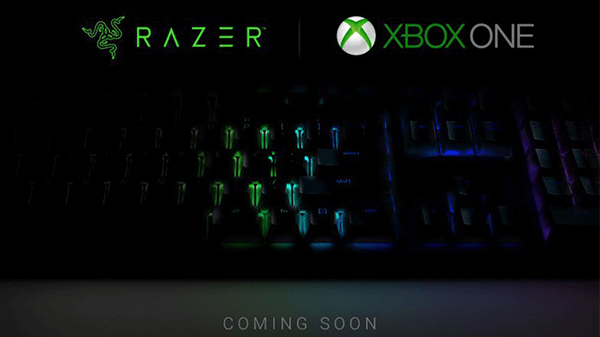 An official keyboard is coming to Xbox.