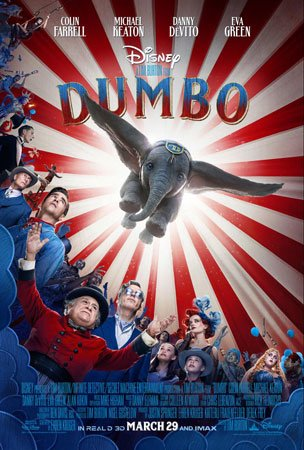 Disney's live-action Dumbo movie poster