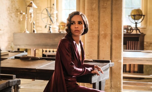 Leta Lestrange at her old Hogwarts desk
