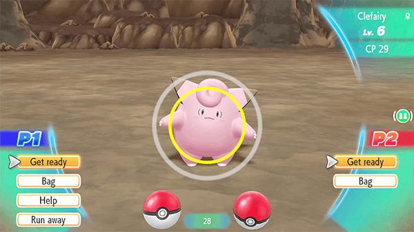 Pokémon GO players will immediately know how to catch Pokémon in this game.