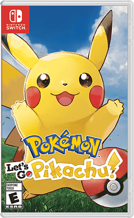 Pokémon: Let's Go, Pikachu! Box Art