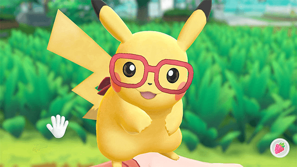 Light customization is an option for both your Pokémon and your trainer.