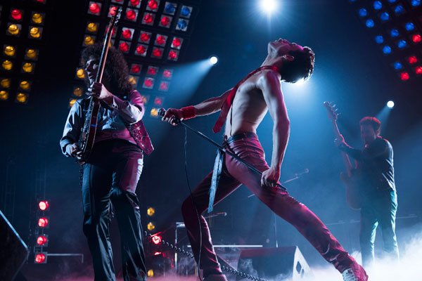 Freddie's flamboyant performance style