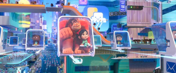 Vanellope and Ralph are transported to BuzzTube
