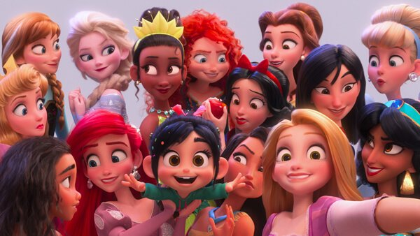 Disney princesses tell Vanellope she is one of them