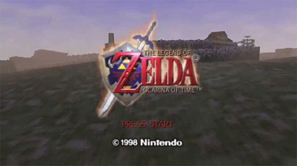 Though a little blurry and low resolution by today's standards, Ocarina of Time holds up in most ways.