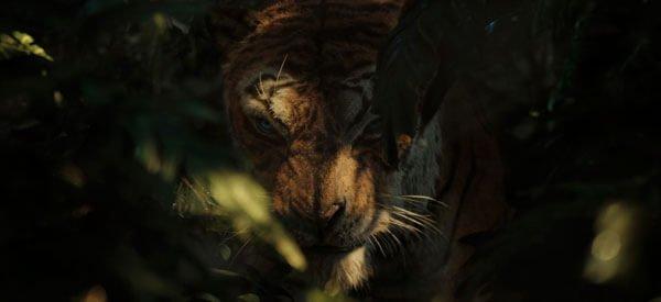 Tiger Shere Khan wants to eat Mowgli