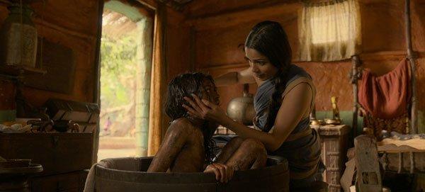 Messua is kind to Mowgli